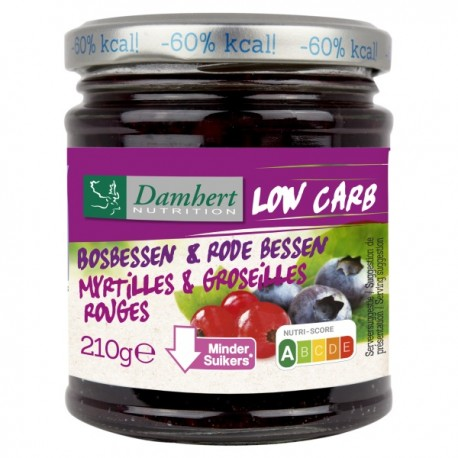 Confiture Myrtille Groseille