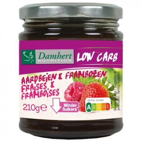 Confiture fraise framboise