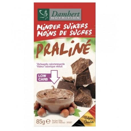 Chocolat lait praliné sans sucre ajouté 85g - D
