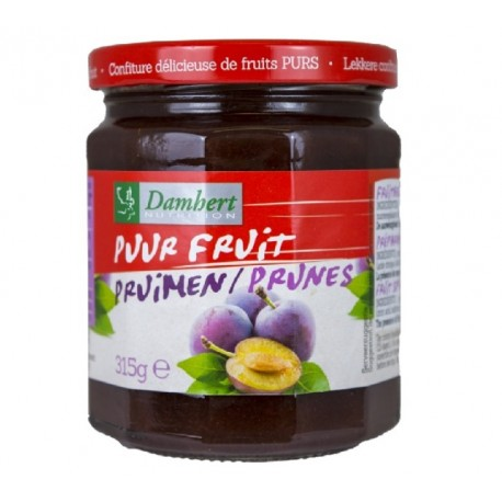 Confiture de prunes pur fruit 315 g - D
