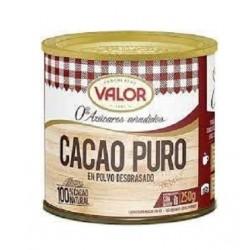 Cacao pur en poudre sans sucre ajouté 250 g - V