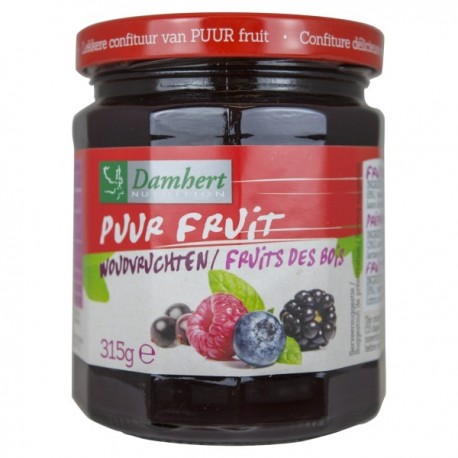 Confiture fruits de bois pur fruit 315 g - D