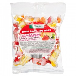 Bonbons tendres aux fruits citron, orange, fraise. 100g - D