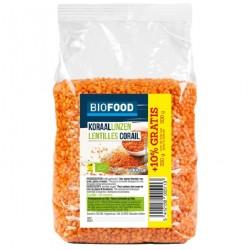 Lentilles corail Biofood 500 g