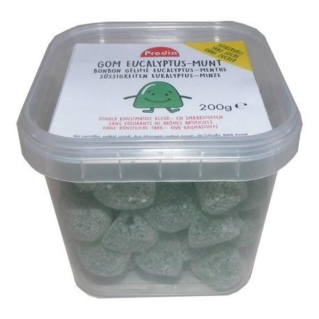 eucalyptus menthe Gélifiés sans sucre ajouté 200g - P