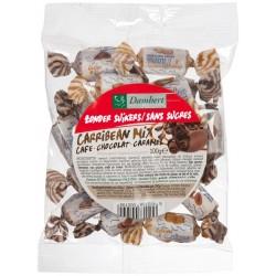 Carribean, Bonbons tendres au chocolat, caramel et café 100g - D