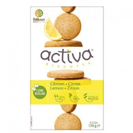 Activa biscuits au citron