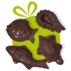 Sachet de Friture de Pâques au Chocolat Noir
