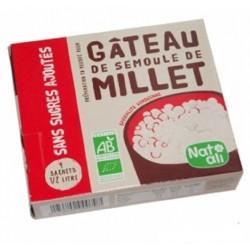 Gâteau de semoule de millet