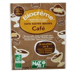 Biocreme café sans sucre