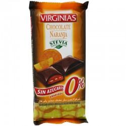 Tablette de Chocolat et Orange à la Stévia Virginias