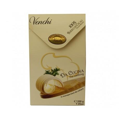 Beurre de cacao Venchi boite
