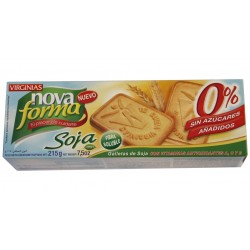 Biscuits Nova Forma soja Virginias