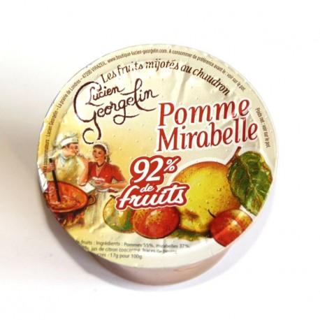 Compote pommes mirabelles 100 g