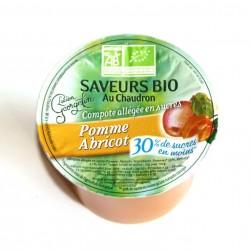 Compote bio pomme abricot 100 g