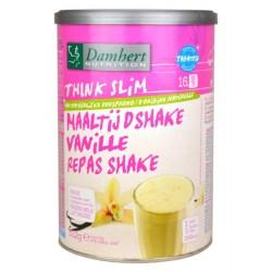 Substitut de repas protéiné vanille allégé en sucre