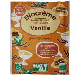 Biocreme vanille sans sucre