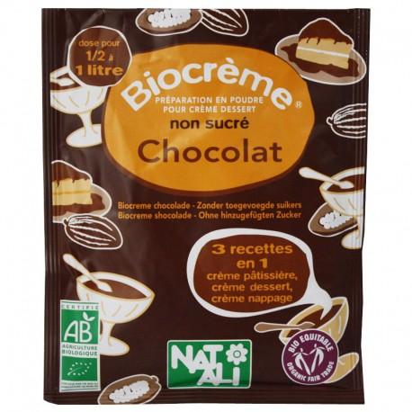 Biocreme chocolat sans sucre
