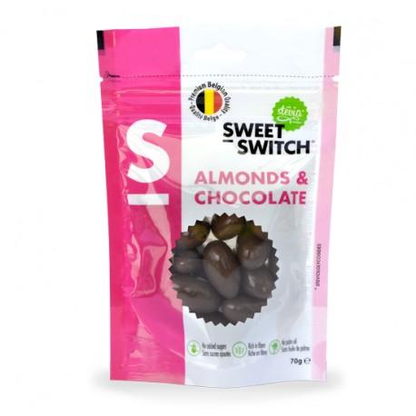 Dragées amandes au chocolat 70 g Sweet Switch