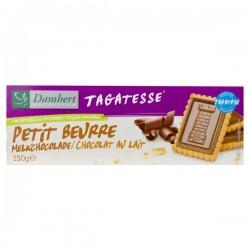 Petit Beurre Chocolat au Lait sans sucre Damhert