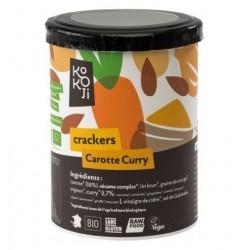 Crackers carotte curry 80 g Kokoji