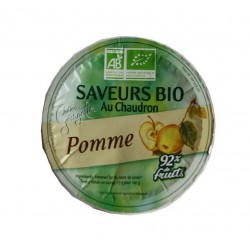 Compote pommes bio 100 g Georgelin
