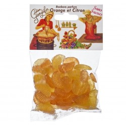 Bonbons citron orange 115 g - Georgelin