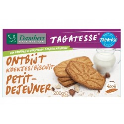 Biscuits petit déjeuner sans sucre Damhert