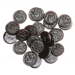 Réglisse Gums pièces 200 g De Bron
