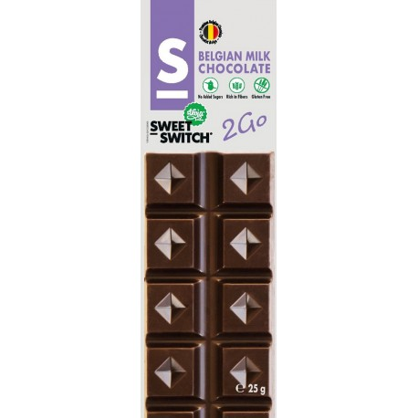 Chocolat lait Sweet Switch 25g