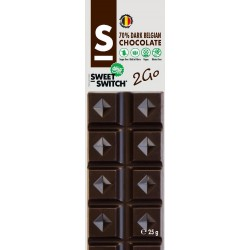 Barre chocolat noir Sweet Switch 25g