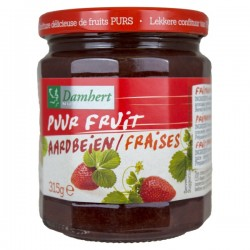 Confiture de fraise pur fruit
