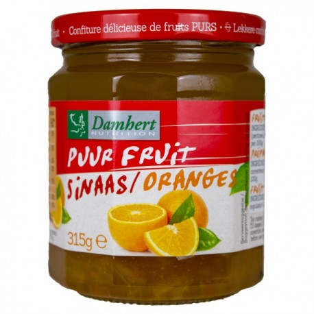 Confiture orange pur fruit