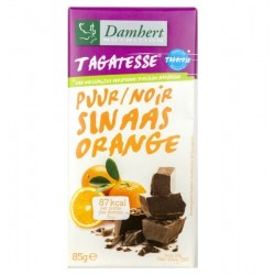 Tablette chocolat noir orange Damhert