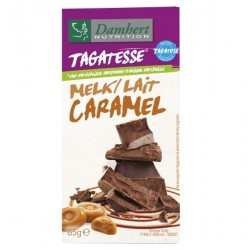 Tablette chocolat lait caramel Damhert
