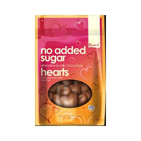 Coeurs en chocolat sans sucre 125g Plamil