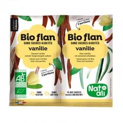 Bioflan vanille sans sucre