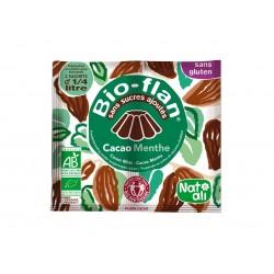 Bioflan chocolat menthe sans sucre