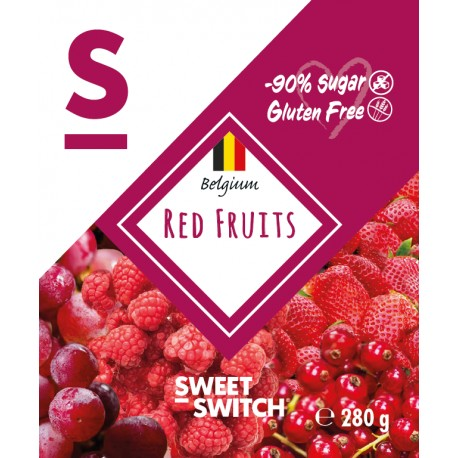 Confiture fruits rouges sweet switch