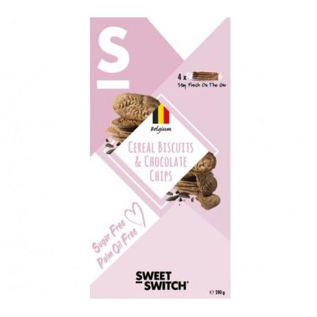 Biscuits petit déjeuner aux céréales 200 g Sweet Switch