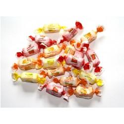 1 KG Bonbons tendres fruits sans sucre ajouté De Bron